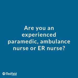 Are you an ER nurse